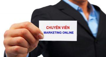 Tháng 2/2017: Tuyển chuyên viên Marketing Online