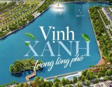 Hồ điều hòa – Điểm nhấn dự án Chung cư Vinhomes Green Bay Mễ Trì