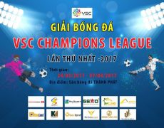 Tuyển Hoàng Gia và quyết tâm tại VSC Champions League 2017