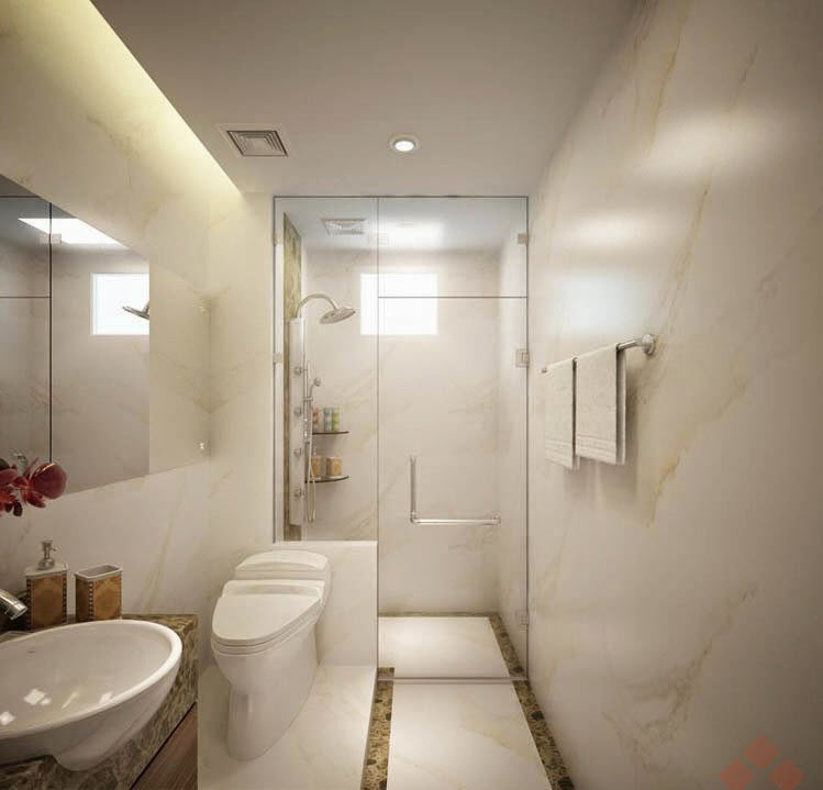 Thiết kế nhà vệ sinh hiện đại và trẻ trung