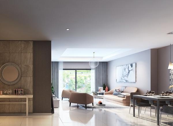 D'.Capitale đa dạng với các loại từ 1 đến 3 phòng ngủ trong diện tích từ 38 đến 122m 2 , tối ưu công năng để thỏa mãn mọi nhu cầu sử dụng.